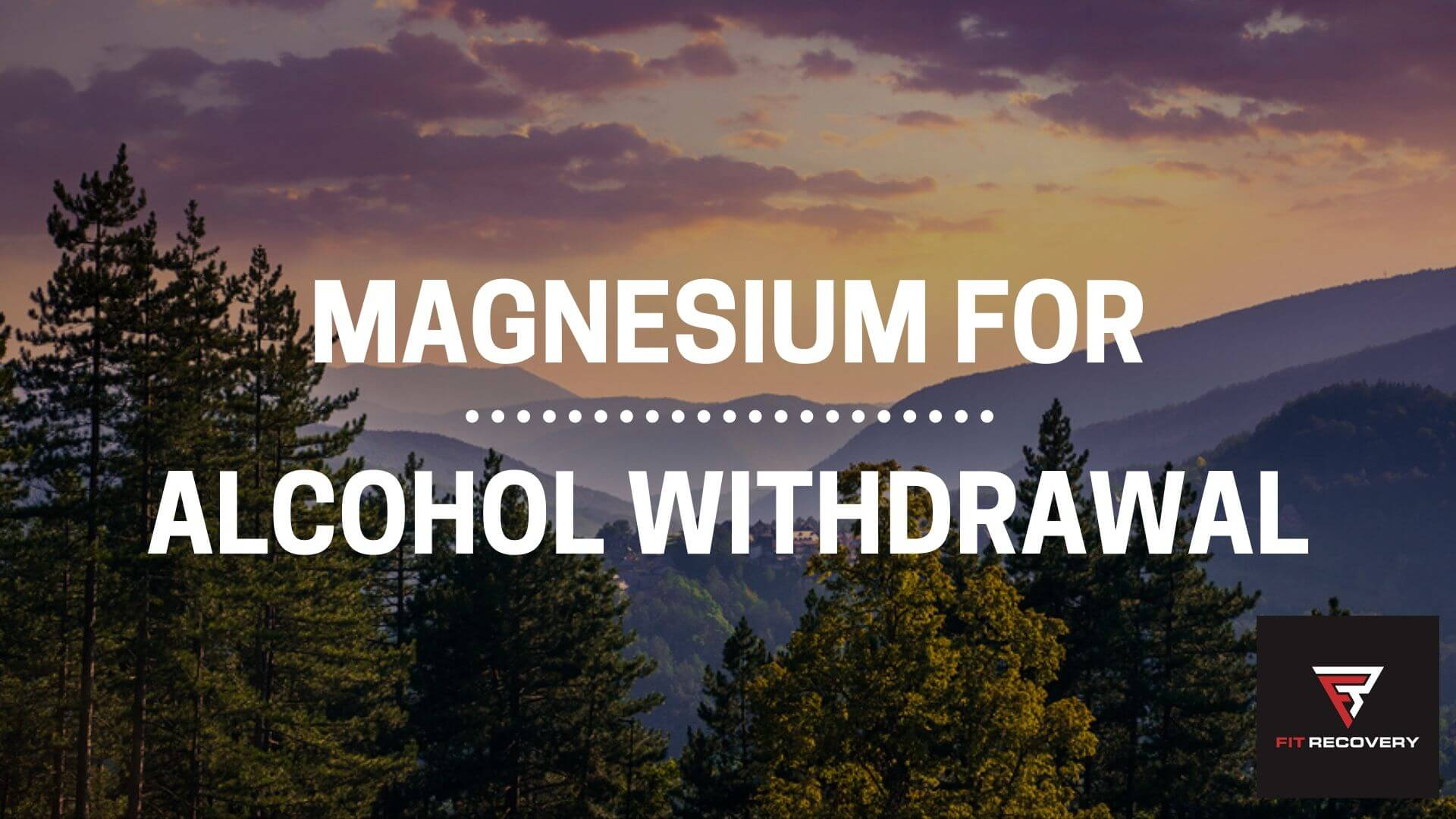 magnesium for alcohol withdrawal