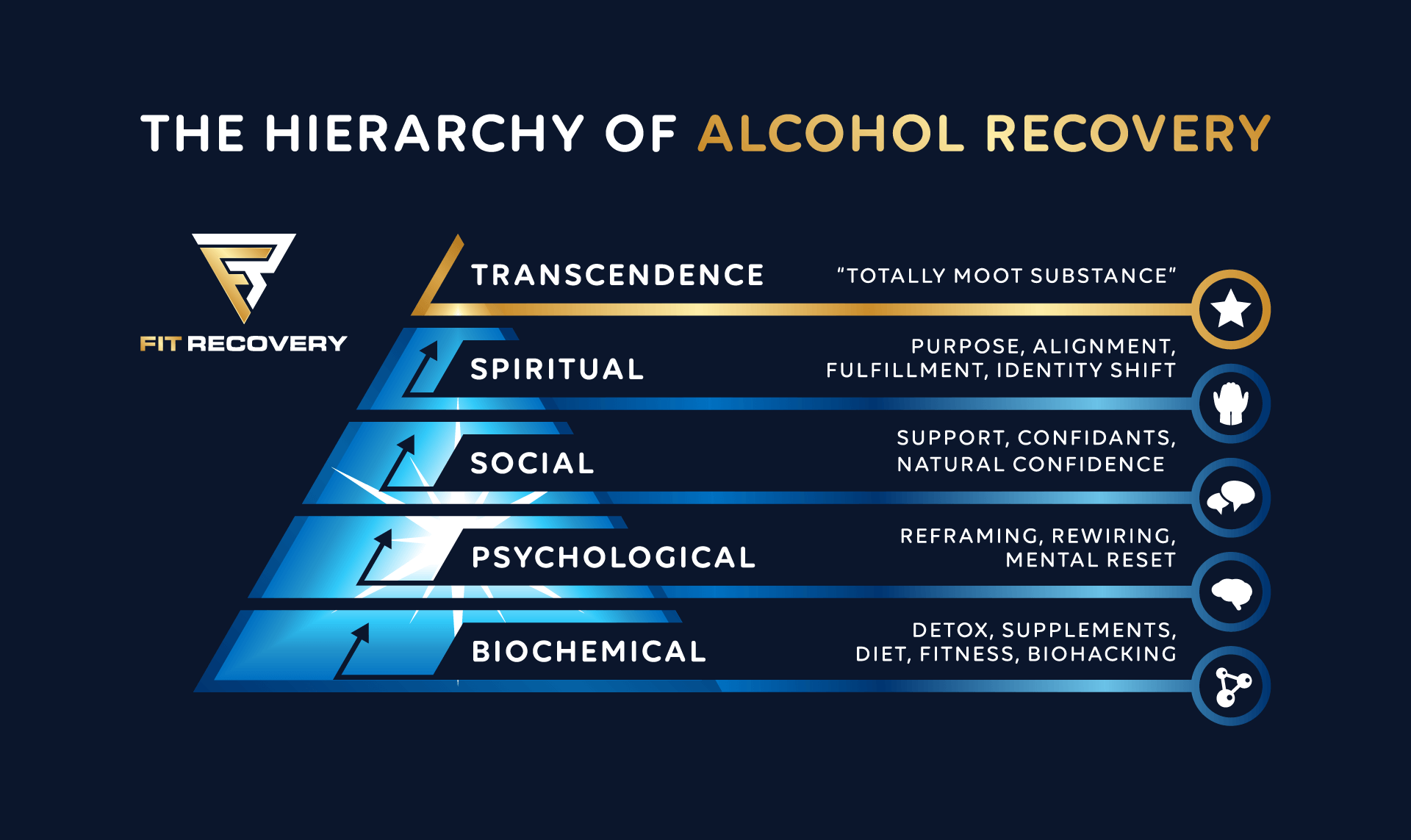 Hierarchy of Alcohol Recovery